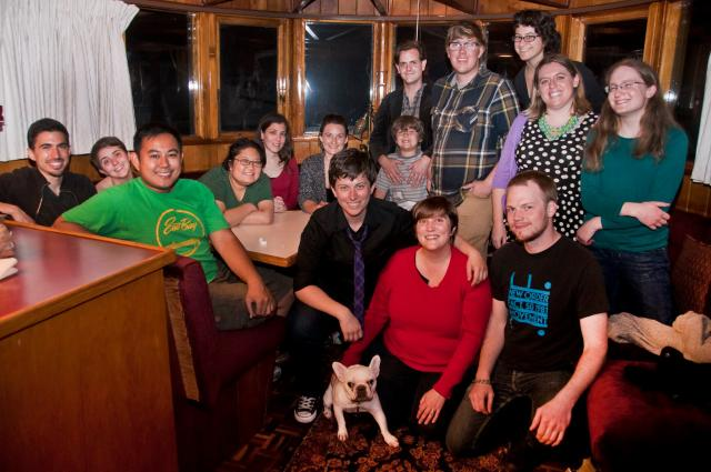 Members of UU Oakland Young Adults