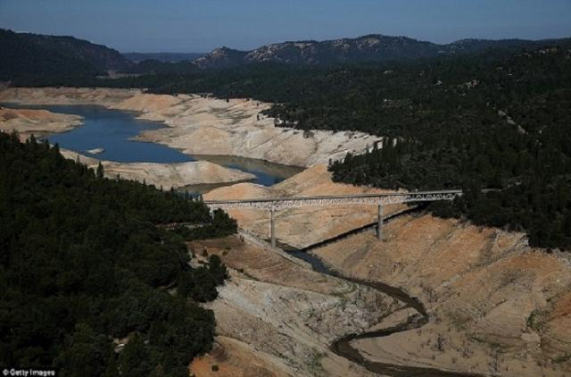 Lake Oroville in Butte County, CA