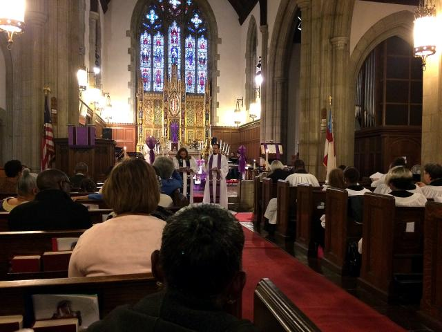 Union of Black Episcopalians Fourth Lenten Service